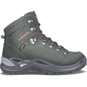 Lowa Renegade GTX Mid Shoes Women anthracite/mandarine